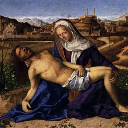 Pietà, de Giovanni Bellini