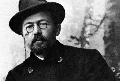 """Anton Tchékhov, autor de """"Quatro peças"""""""