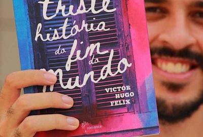 """Victor Hugo Felix, autor de """"Triste história do fim do mundo"""""""
