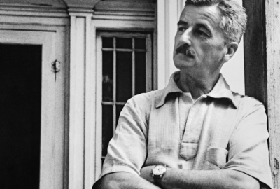 """William Faulkner, autor de """"Luz em agosto"""""""