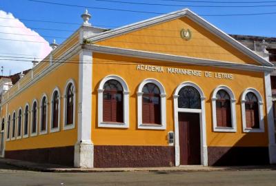 Sede da Academia Maranhense de Letras, instituição que Astolfo Marques ajudou a fundar