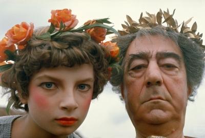 Cena do filme Satyricon, de Federico Fellini, lançado em 1969