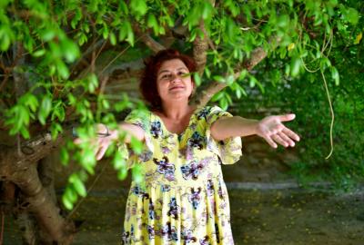Cida Pedrosa, autora de