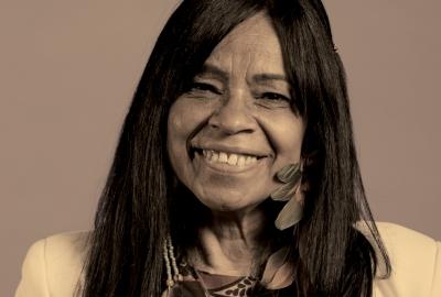 Eliane Potiguara, convidada da Flipoços.