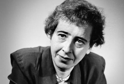 Hannah Arendt, autora de