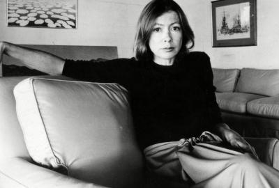 Joan Didion, autora de