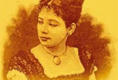 Retrato da autora Maria Firmina dos Reis
