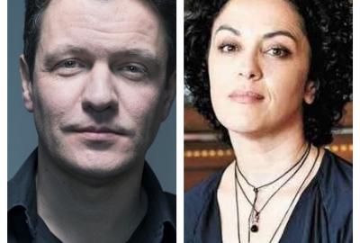 Os autores Luís Henrique Pellanda e Marcia Tiburi