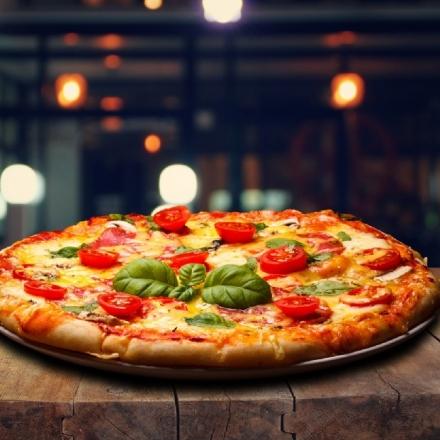 A pizza não pode ser infinita, toda pizza tem uma borda